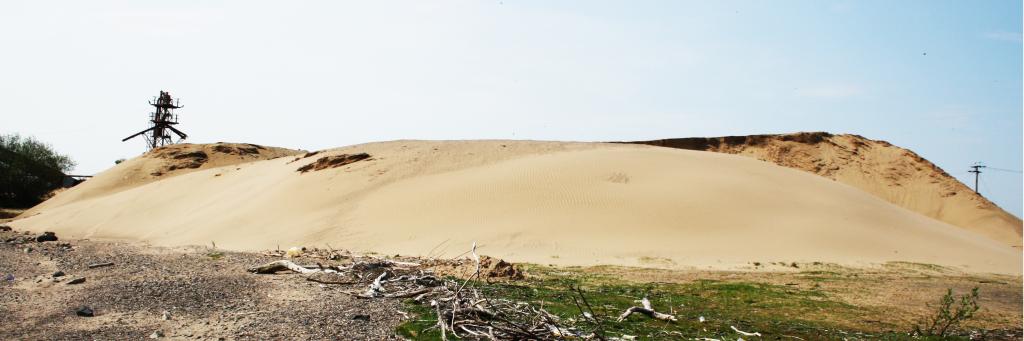 sand-dredged
